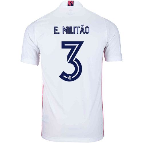 2020/21 adidas Eder Militao Real Madrid Home Jersey