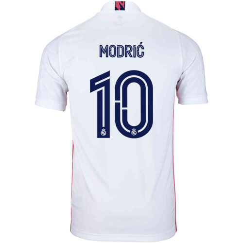 2020/21 adidas Luka Modric Real Madrid Home Jersey