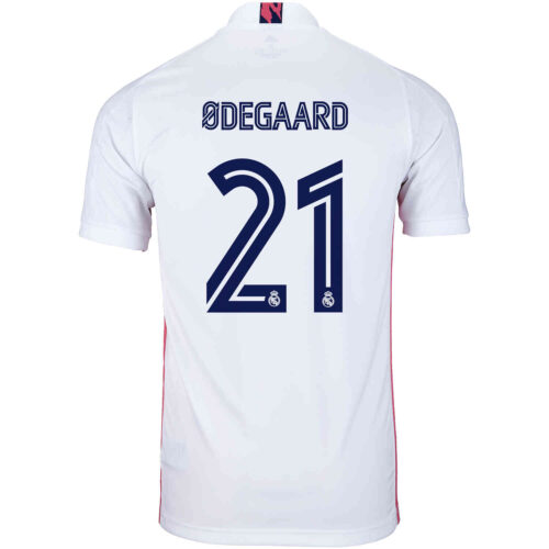 2020/21 adidas Martin Odegaard Real Madrid Home Jersey