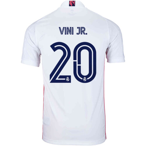 2020/21 adidas Vinicius Junior Real Madrid Home Jersey