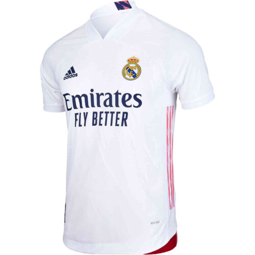 2020/21 adidas Real Madrid Home Authentic Jersey