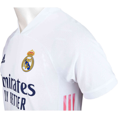 2020/21 adidas Vinicius Junior Real Madrid Home Authentic Jersey