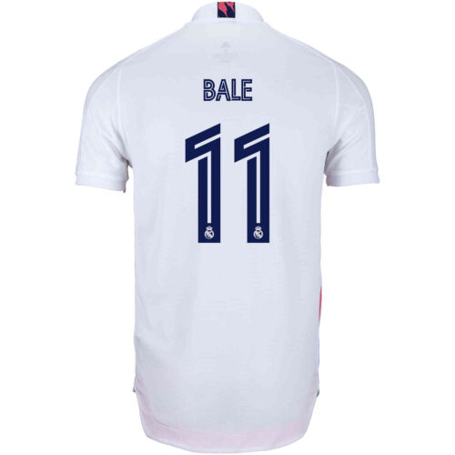 2020/21 adidas Gareth Bale Real Madrid Home Authentic Jersey