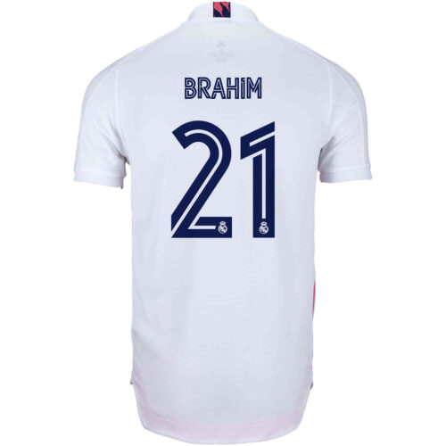 2020/21 adidas Brahim Diaz Real Madrid Home Authentic Jersey
