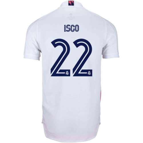 2020/21 adidas Isco Real Madrid Home Authentic Jersey