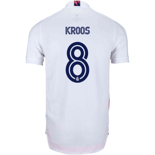 2020/21 adidas Toni Kroos Real Madrid Home Authentic Jersey