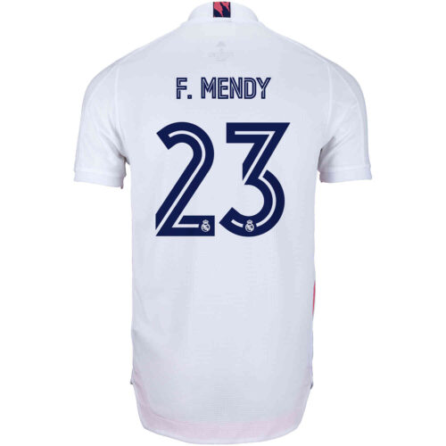 2020/21 adidas Ferland Mendy Real Madrid Home Authentic Jersey