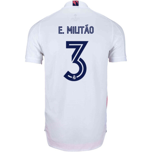 2020/21 adidas Eder Militao Real Madrid Home Authentic Jersey