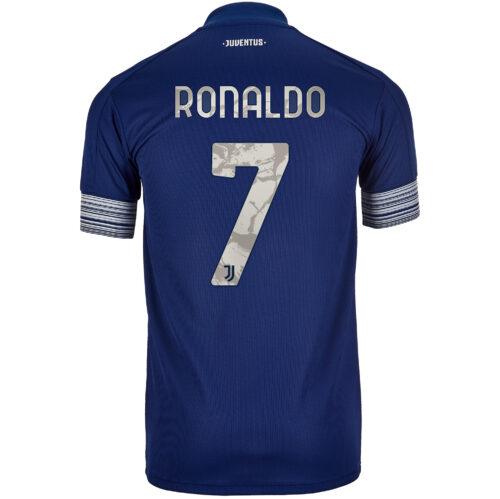 2020/21 Kids adidas Cristiano Ronaldo Juventus Away Jersey