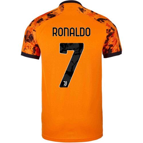 2020/21 Kids adidas Cristiano Ronaldo Juventus 3rd Jersey