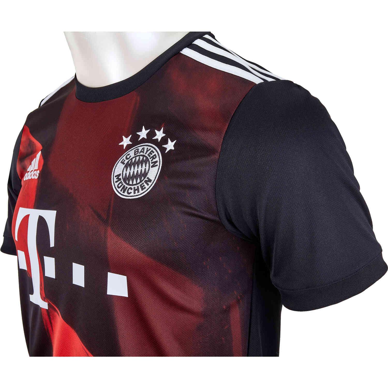2020/21 adidas Kingsley Coman Bayern Munich 3rd Jersey - SoccerPro