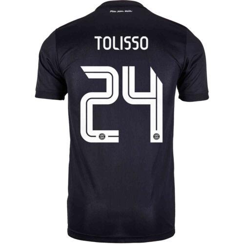 2020/21 adidas Corentin Tolisso Bayern Munich 3rd Jersey