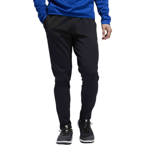 adidas Team Issue Lifestyle Tapered Pants – Black/white