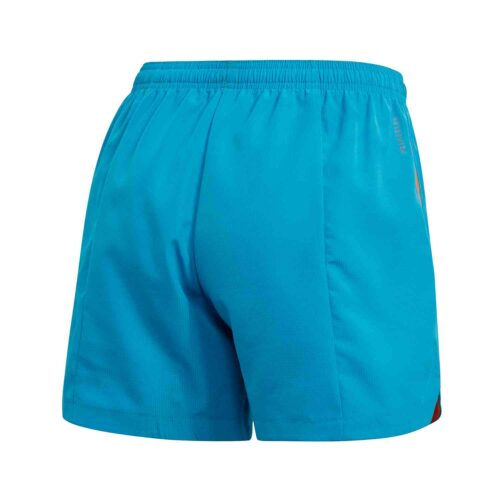 Womens adidas Condivo 20 PB Shorts – Sharp Blue/True Orange