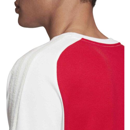 adidas Arsenal Icons Tee – Scarlet/White