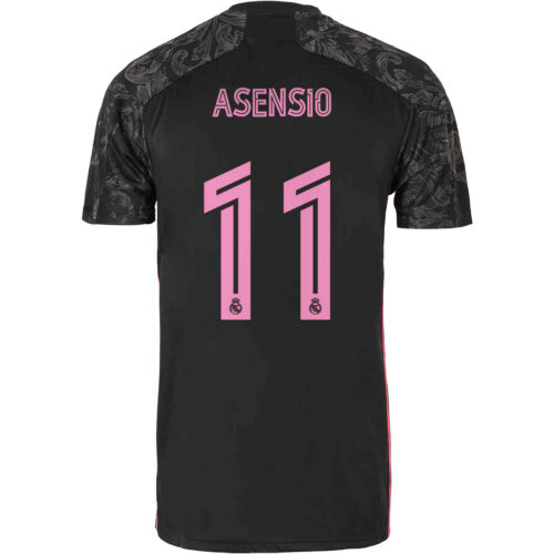 2020/21 Kids adidas Marco Asensio Real Madrid 3rd Jersey