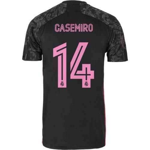 2020/21 Kids adidas Casemiro Real Madrid 3rd Jersey