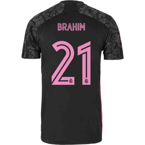 2020/21 Kids adidas Brahim Diaz Real Madrid 3rd Jersey