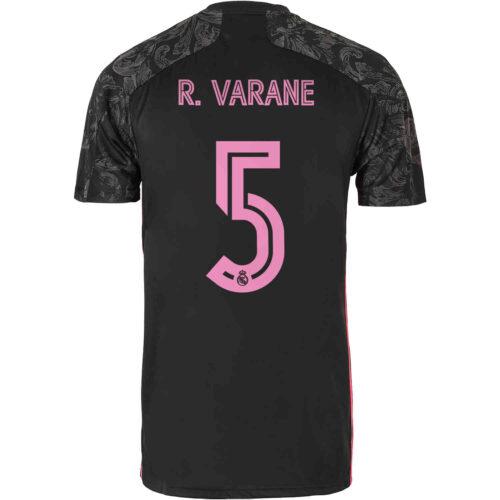 2020/21 Kids adidas Raphael Varane Real Madrid 3rd Jersey