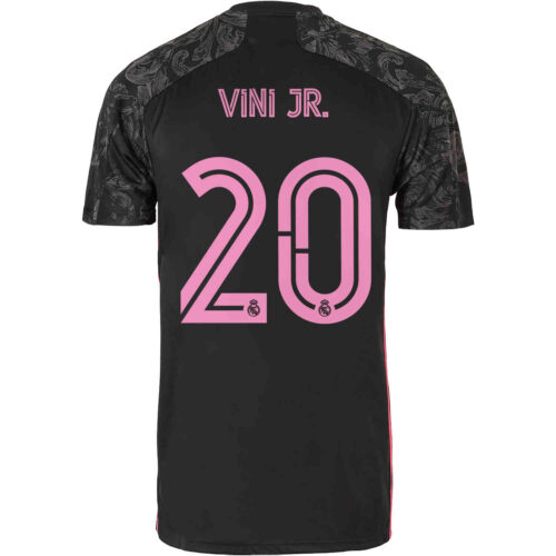 2020/21 Kids adidas Vinicius Junior Real Madrid 3rd Jersey