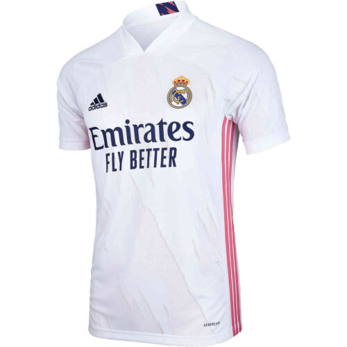 2020/21 Kids adidas Real Madrid Home Jersey