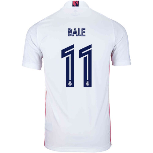 2020/21 Kids adidas Gareth Bale Real Madrid Home Jersey