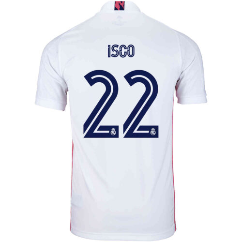 2020/21 Kids adidas Isco Real Madrid Home Jersey
