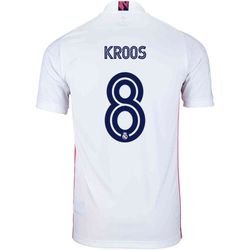 2020/21 Kids adidas Toni Kroos Real Madrid Home Jersey