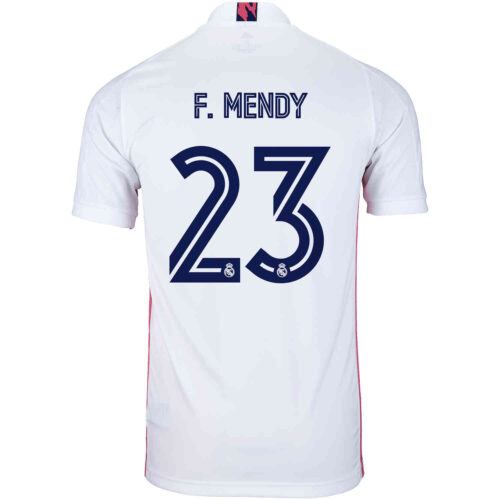 2020/21 Kids adidas Ferland Mendy Real Madrid Home Jersey