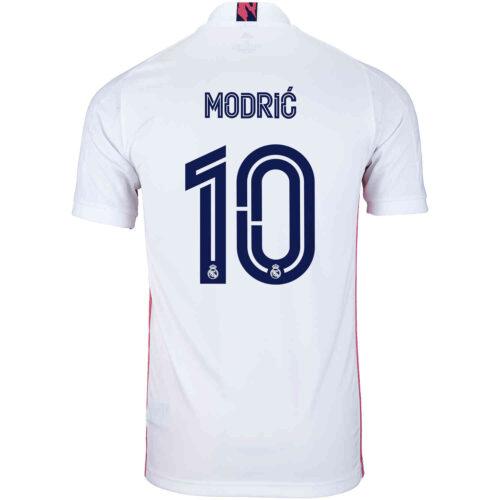 2020/21 Kids adidas Luka Modric Real Madrid Home Jersey