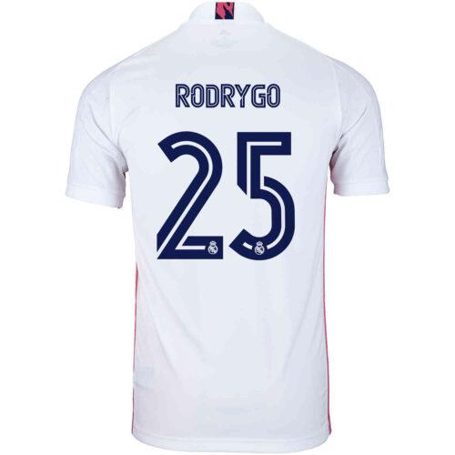 2020/21 Kids adidas Rodrygo Real Madrid Home Jersey