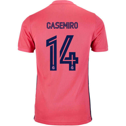 2020/21 Kids adidas Casemiro Real Madrid Away Jersey