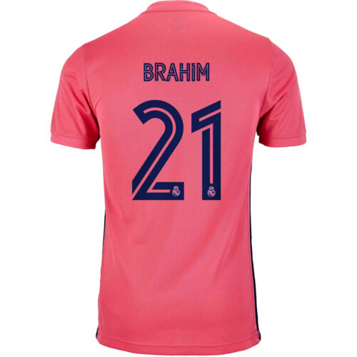 2020/21 Kids adidas Brahim Diaz Real Madrid Away Jersey