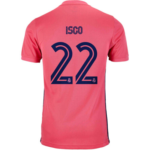 2020/21 Kids adidas Isco Real Madrid Away Jersey