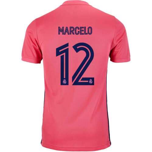 2020/21 Kids adidas Marcelo Real Madrid Away Jersey