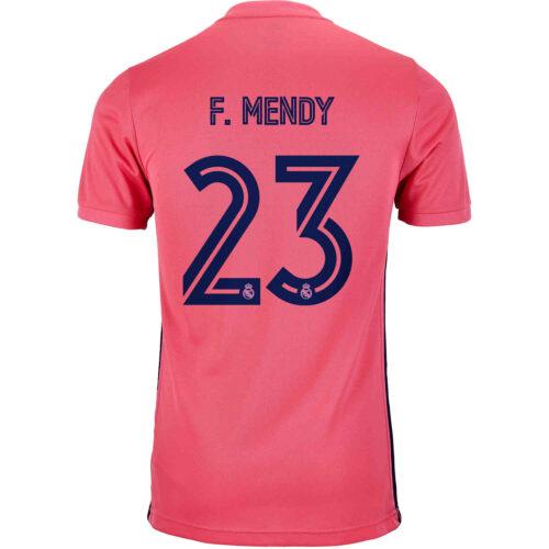 2020/21 Kids adidas Ferland Mendy Real Madrid Away Jersey