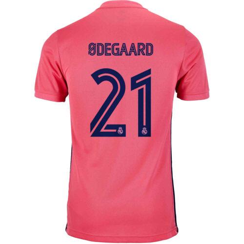 2020/21 Kids adidas Martin Odegaard Real Madrid Away Jersey