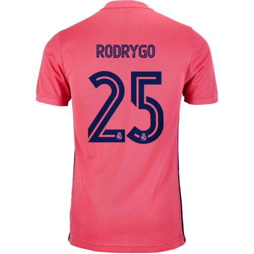 2020/21 Kids adidas Rodrygo Real Madrid Away Jersey