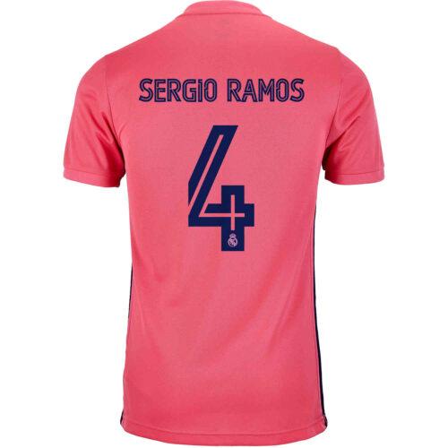 2020/21 Kids adidas Sergio Ramos Real Madrid Away Jersey