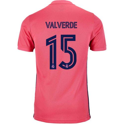 2020/21 Kids adidas Federico Valverde Real Madrid Away Jersey