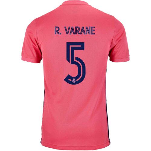2020/21 Kids adidas Raphael Varane Real Madrid Away Jersey