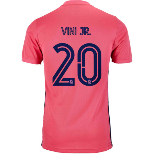 2020/21 Kids adidas Vinicius Junior Real Madrid Away Jersey