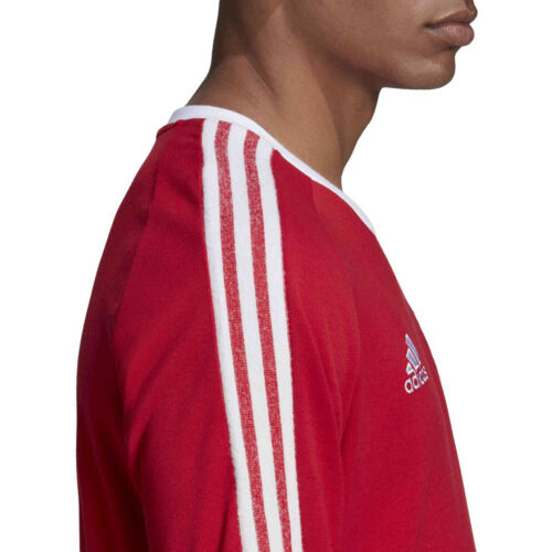 adidas Manchester United Icons Tee – Real Red