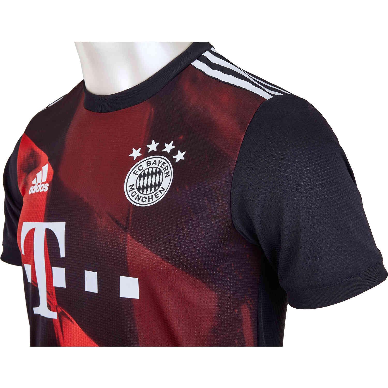 2020/21 adidas Robert Lewandowski Bayern Munich 3rd ...