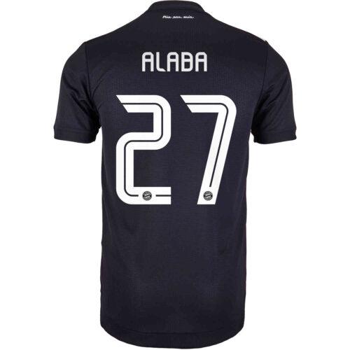 2020/21 adidas David Alaba Bayern Munich 3rd Authentic Jersey