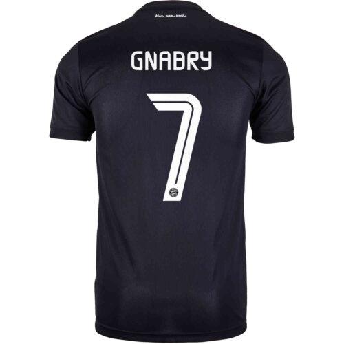 2020/21 Kids adidas Serge Gnabry Bayern Munich 3rd Jersey