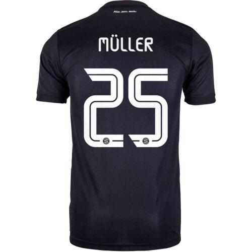 2020/21 Kids adidas Thomas Muller Bayern Munich 3rd Jersey