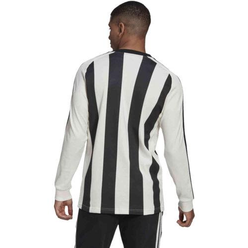 adidas Juventus Icons L/S Tee – Off White/Black