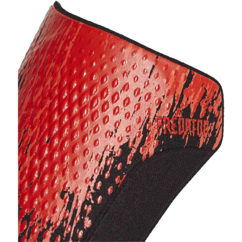 adidas Predator Competition Shin Guards – Black & Active Red
