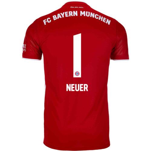 2020/21 adidas Manuel Neuer Bayern Munich Home Jersey